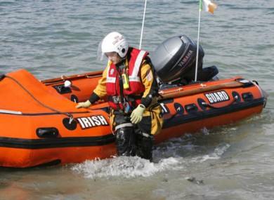 File photo of the Irish coast guard.