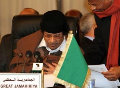 Gaddafi in 2006.