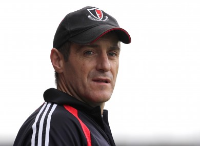 Dunne previously coached Oulart the Ball