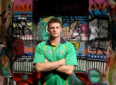 Brisbane Lions' Pearce Hanley ahead of tomorrow's second Test.