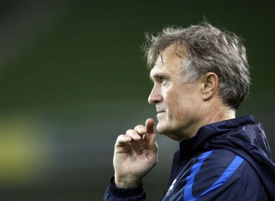 Coach Tarmo Rüütli will have been satisfied with his side's performance.