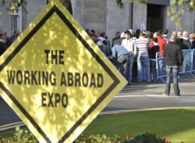 As more and more people emigrate, newsfeeds for Irish expatriates remain popular.