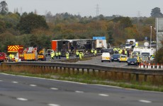 Seven confirmed dead after M5 crash, as search for bodies concludes