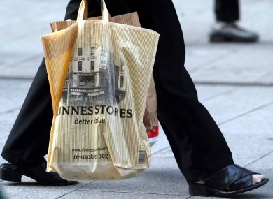 A re-usable bag available from Dunnes Stores (File photo)