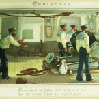 From Georgina Pim's Album of Christmas Cards.