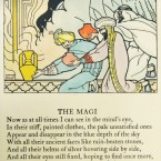 The Yeats verse is illustrated by Nano Reid. (Cuala Press Collection)
