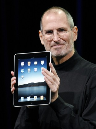 Steve Jobs in January 2010 (File photo)