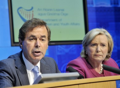 Alan Shatter and Frances Fitzgerald have welcomed the publication of the final sections of the Cloyne Report.