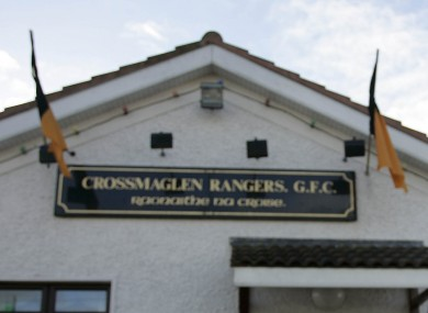 James Hughes was an active member of the famed Crossmaglen Rangers club, where players met to offer prayers last night.