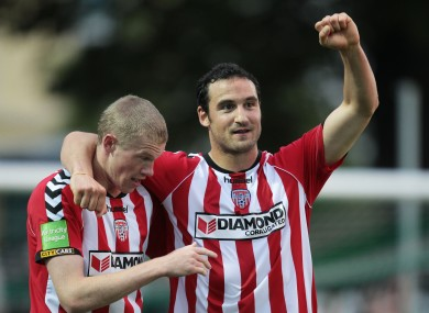 Derry's Eamon Zayed recently won the PFAI Player of the Year award.