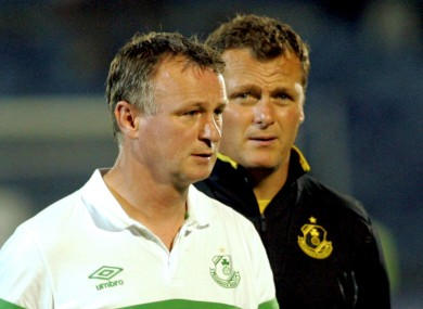 Michael O'Neill and Jim Magilton.