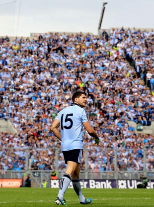 Alan Brogan: All-Ireland champion in front of Hill 16 in September.