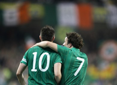 Robbie Keane and Stephen hunt are on the way to Poland-Ukraine this summer.