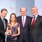 Runner Fionnuala Britton scoops the Sportswoman of the Month award for December.