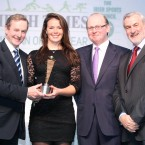 Canoeist Jenny Egan won the Sportswoman of the Month award for May.