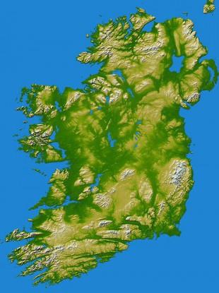 Ireland as shot by NASA via Jim Corbett.