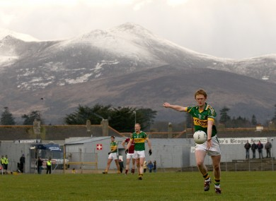 Colm Cooper in action at Fitzgerald Stadium