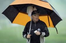 McGrane slips back in storm-hit Joburg