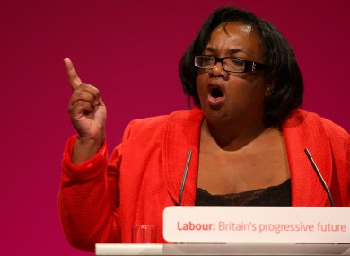 Diane Abbott ran for leadership of the British Labour party in 2010.