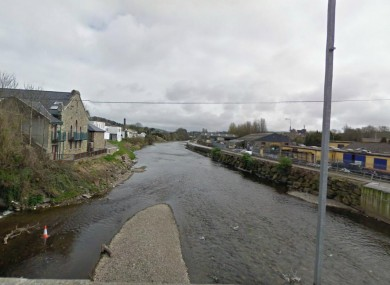 General view of the river in Bandon, Co Cork