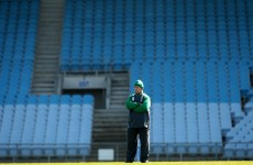 Kidney announces Ireland training squad for Six Nations