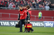 Ronan ruled out as Munster chase home draw