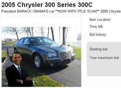 A screen grab from the listing