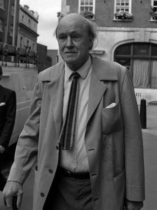 Roald Dahl in 1988.