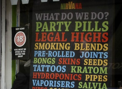 Ireland has previously taken a hard line on drugs, introducing blanket bans on substances sold by the likes of head shops.
