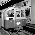 Nonetheless, 1977 came and brought the Queen's Diamond Jubilee - marked by the opening of a new £30m extension to the Piccadilly Line. Here she is, in the drivers' cab for its first journey - a monarch taking public transport.