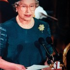 Delivering a speech later that month, to mark her 40th anniversary as monarch, the Queen referred to 1992 as an