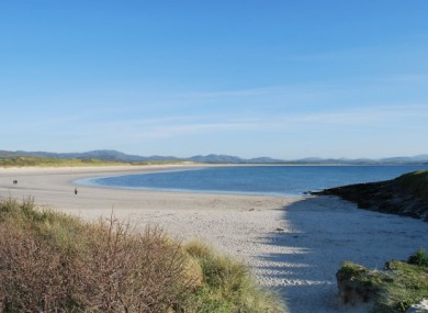 Tra More beach in Donegal (File photo)