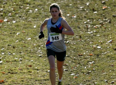 Linda Byrne, winner at yesterday's Woodie's DIY Senior Cross Country Championships (file photo).