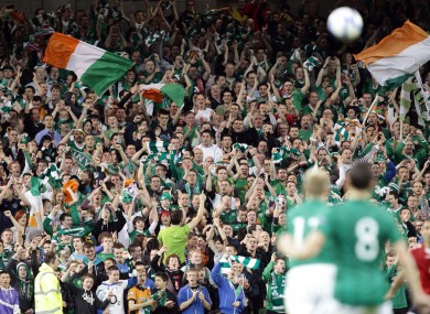 Ireland supporters are facing a battle to secure match tickets.
