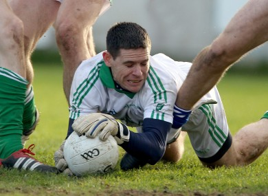 Leinster's goalkeeper Stephen Cluxton yesterday.