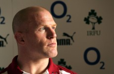 We're ready to put our bodies on the line, insists O'Connell