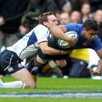 A difficult day at Murrayfield would have been made impossible had France not been gifted the terrific finishing skill of the Clermont centre. Attacked the ball at an incredible pace and able to step out of a tackle almost before the Scots were able to make it.<span class=