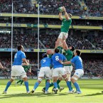 It's been a slow and steady route back to his best from Heaslip's flashy start to his international career. He has matured into a player who does every simple thing well, as exemplified on Saturday when he stood toe-to-toe with Sergio Parisse and came out on top.<span class=