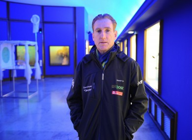 Sean Kelly pictured at the an Post Sean Kelly team launch this morning