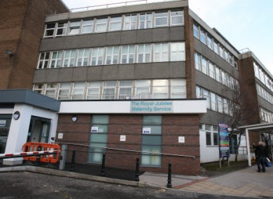 Three babies died in the Royal Maternity Hospital, Belfast in January