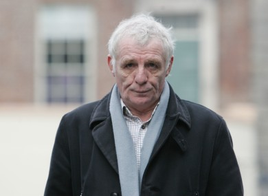 Eamon Dunphy helped developer Owen O'Callaghan proceed with plans to move Wimbledon F.C. to Dublin.