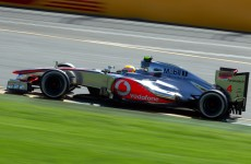 Hamilton takes pole for Aussie GP