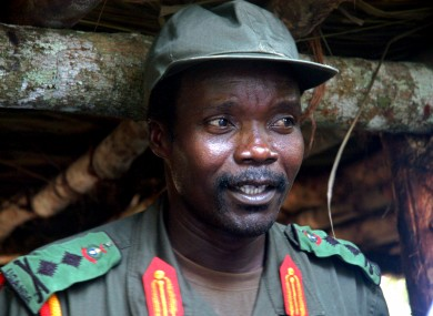 Joseph Kony pictured in 2006. He is wanted by the International Criminal Court for alleged war crimes.