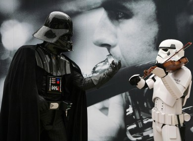 how to make your voice like darth vader