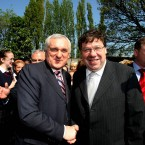 Bertie Ahern steps down in May amid controversy over his Mahon Tribunal evidence and is succeeded by Brian Cowen. Cowen resigns as FF party leader in early 2011 but stays on as Taoiseach until #GE11 election sees a Fine Gael-Labour coalition in government. (Julien Behal/ PA Wire)