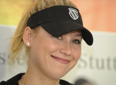 Anna Kournikova has not always been as squeaky clean as some people might imagine.