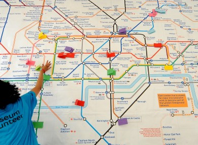 next stop muhammad ali london underground map gets olympic facelift