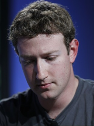Facebook chief executive Mark Zuckerberg: the social network's preparations for an IPO have been hit by a patent lawsuit filed by Yahoo.