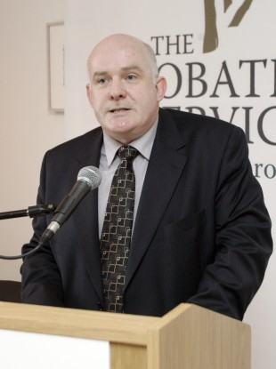 Michael Donnellan, Director General of the Irish Prison Service.