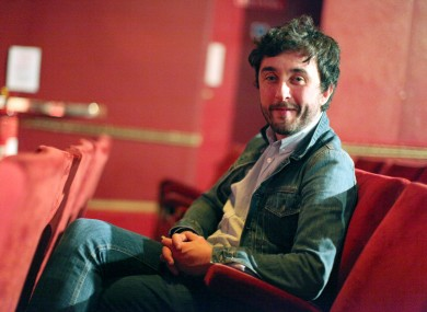 Jape's Richie Egan chills out before yesterday's ceremony, where he won the prize for Best Irish Album of 2011.